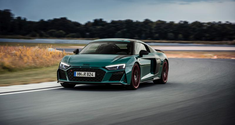 Audi R8 green hell : une ode au Nürburgring en série limitée