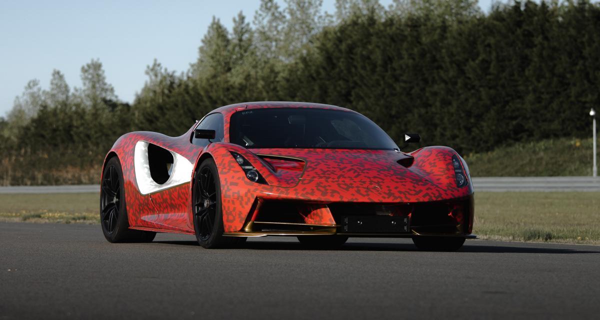 Lotus Evija : l'hypercar électrique anglaise sur la piste d'essai