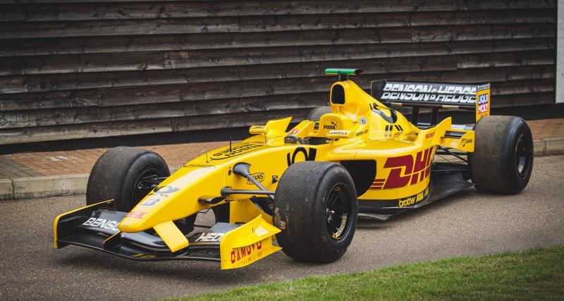 Une ancienne F1 de l'équipe Jordan disponible aux enchères à partir de 100.000 livres