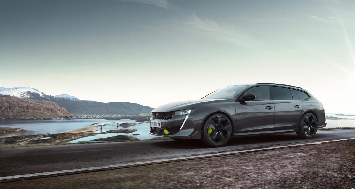 Peugeot 508 PSE (2021) : la sportive hybride rechargeable enfin dévoilée !