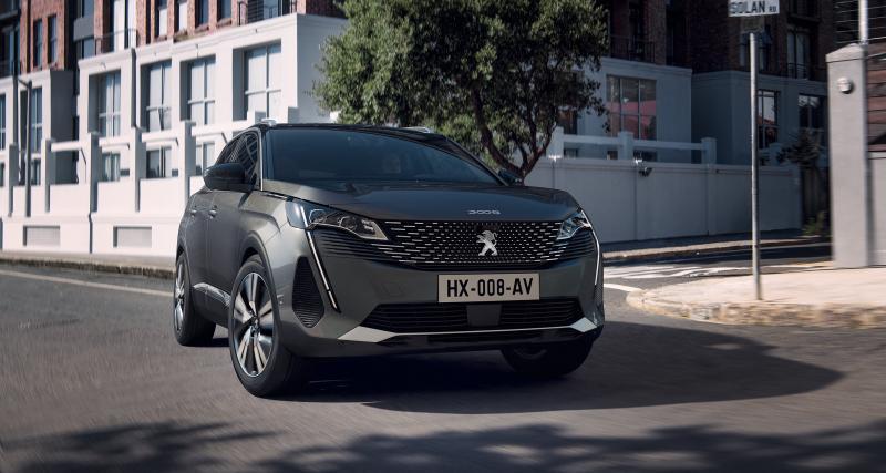 Nouveau Peugeot 3008 : les prix du restylage 2021