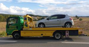 Dans l'Aude, un chauffard se fait flasher à 155 km/h dans un véhicule qui lui appartient pas
