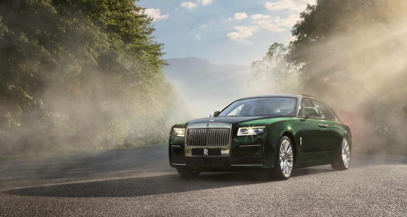 Rolls-Royce Ghost Extended : la Rolls de ceux qui n'aiment pas conduire