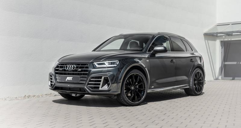 Audi Q5 55 TFSI e quattro par ABT : plus de 400 ch pour le SUV hybride rechargeable