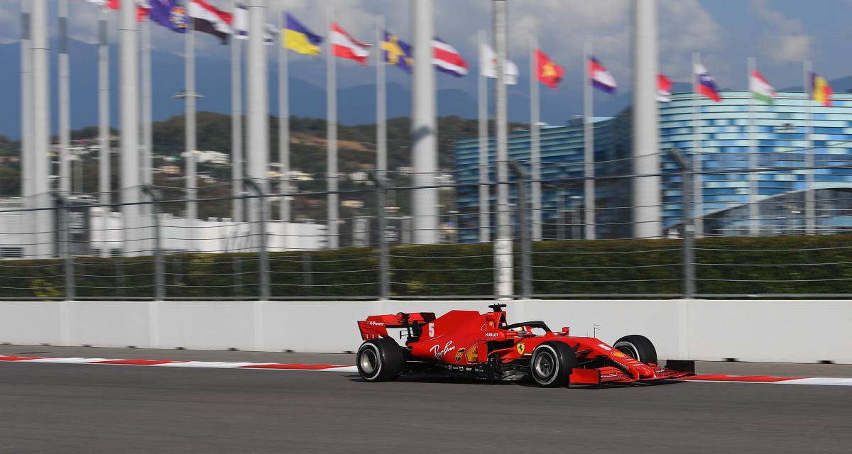 GP de Russie : le crash de Vettel en Q2 en vidéo
