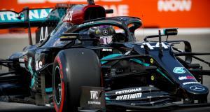 GP de Russie de F1 : les 10 secondes de pénalités d'Hamilton au stand en vidéo