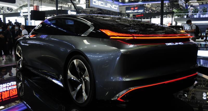 Beijing Radiance Concept : une nouvelle rivale pour la Tesla Model S (photos)