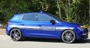Voitures de la gendarmerie : la Leon Cupra remplace la Mégane R.S.