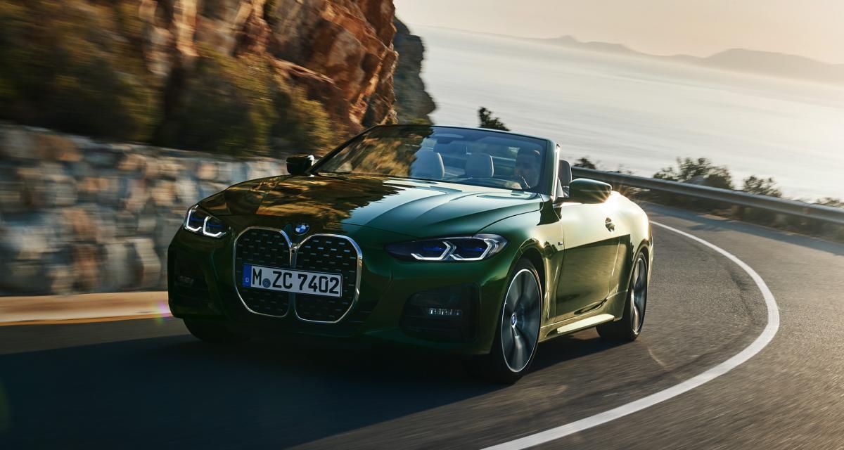 BMW Série 4 cabriolet (2021) : les prix