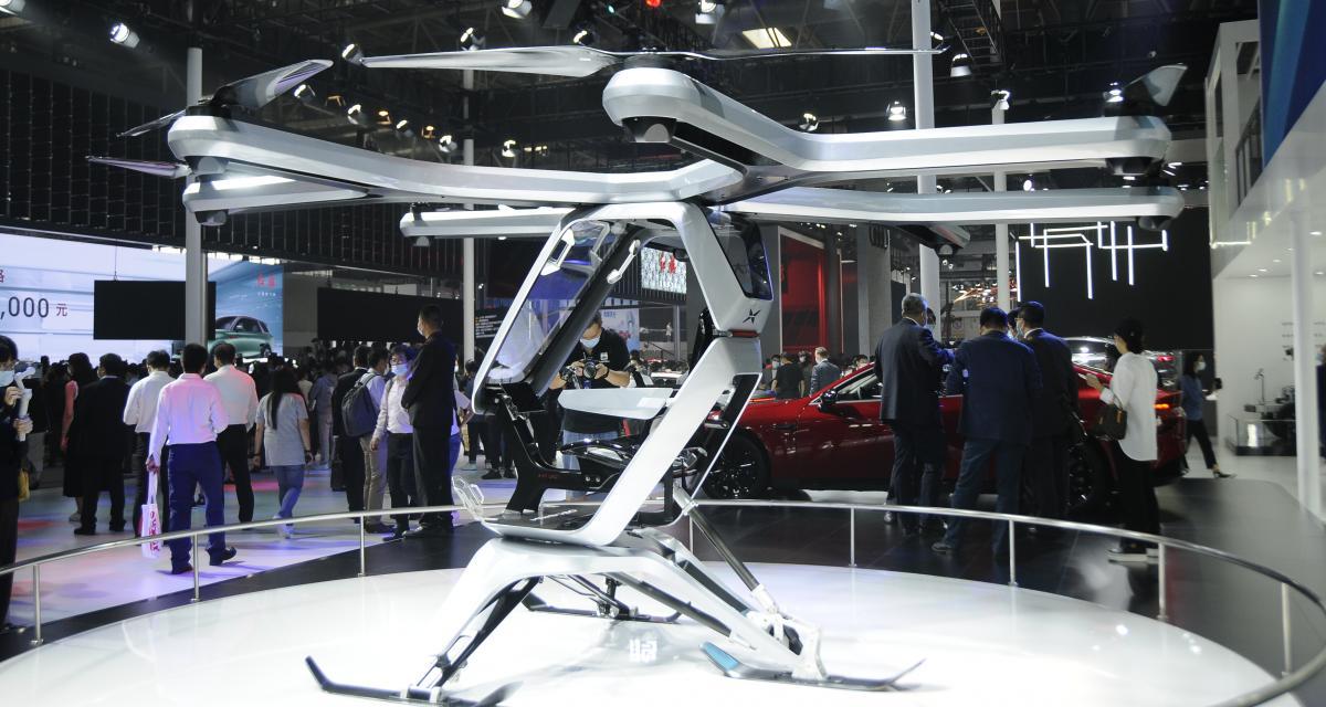 Kiwigogo : le concept de drone touristique Xpeng entre dans la danse au Beijing Motor Show (photos)