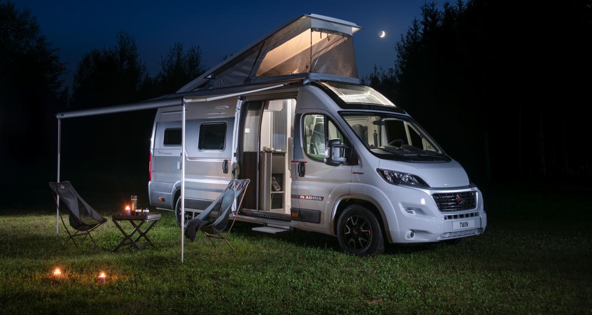 Van Adria Twin Sports Edition : jamais sans son toit !