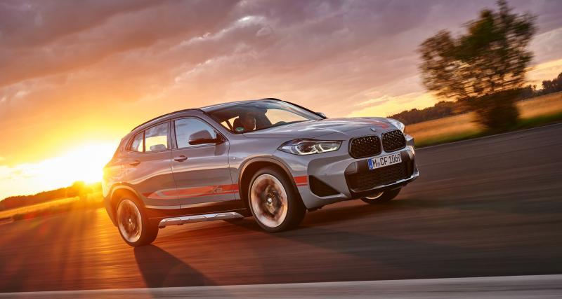BMW X2 M Mesh Edition : une nouvelle série spéciale pour se démarquer