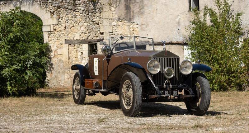 Une belle Rolls-Royce des années 20