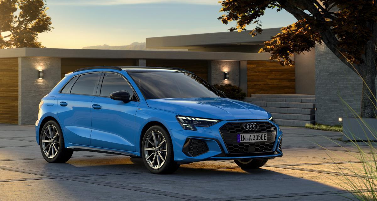 Audi A3 40 TFSI e : jusqu'à 67 km d'autonomie pour la compacte hybride rechargeable