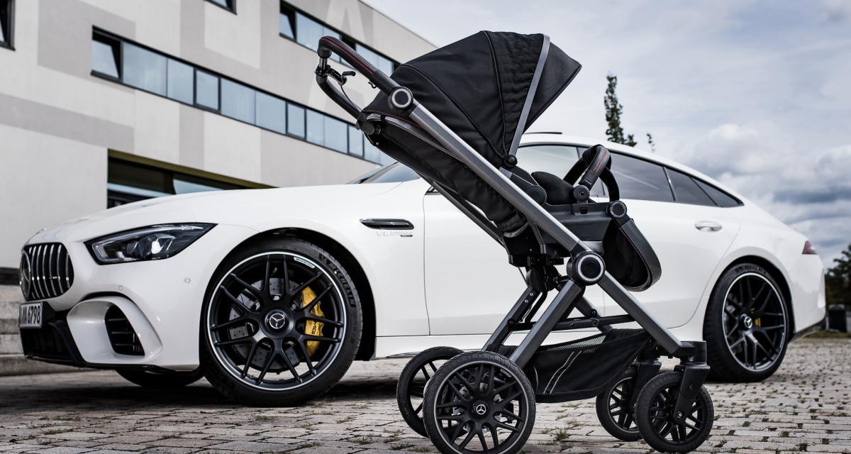 Mercedes lance une nouvelle gamme d'AMG GT… pour bébés