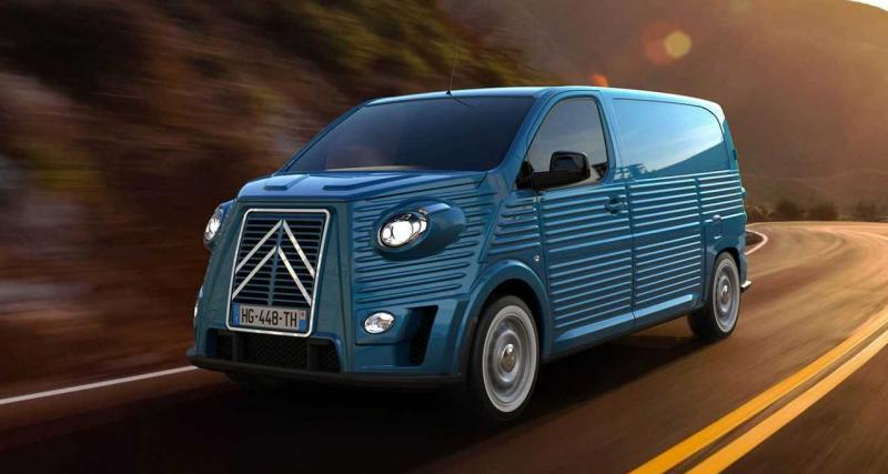 Caselani Type HG : les Citroën Jumpy et SpaceTourer adoptent un look néo-rétro