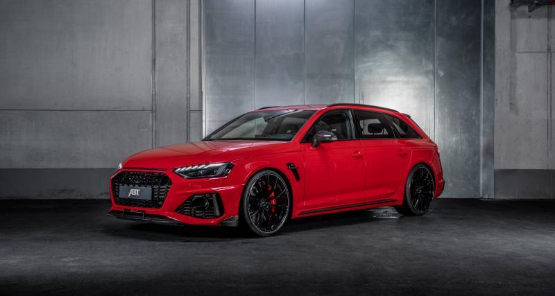 ABT RS4-S : plus de puissance pour l'Audi RS4 en édition spéciale