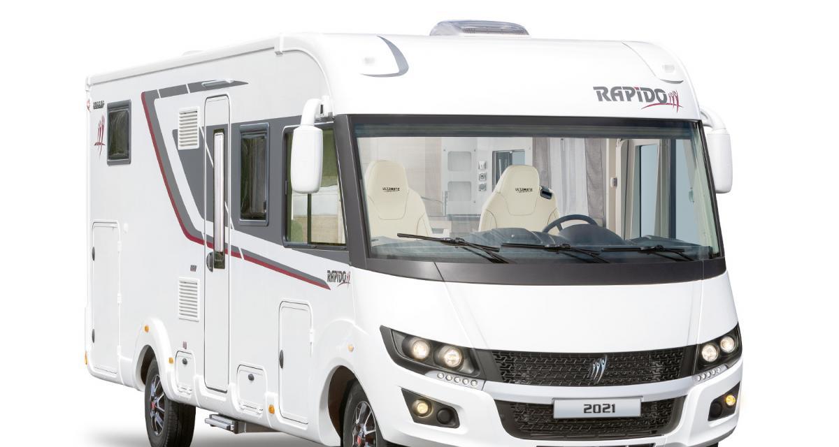 Rapido 8066dF Ultimate Line : le camping-car intégral unique