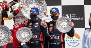 Le cadeau d'adieu … particulier de Hyundai à Loeb et Elena