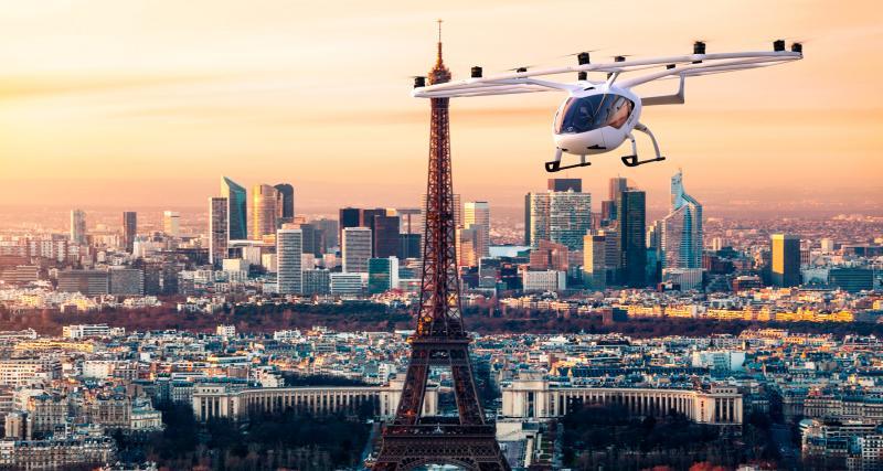Des taxis volants Volocopter bientôt testés en Ile-de-France