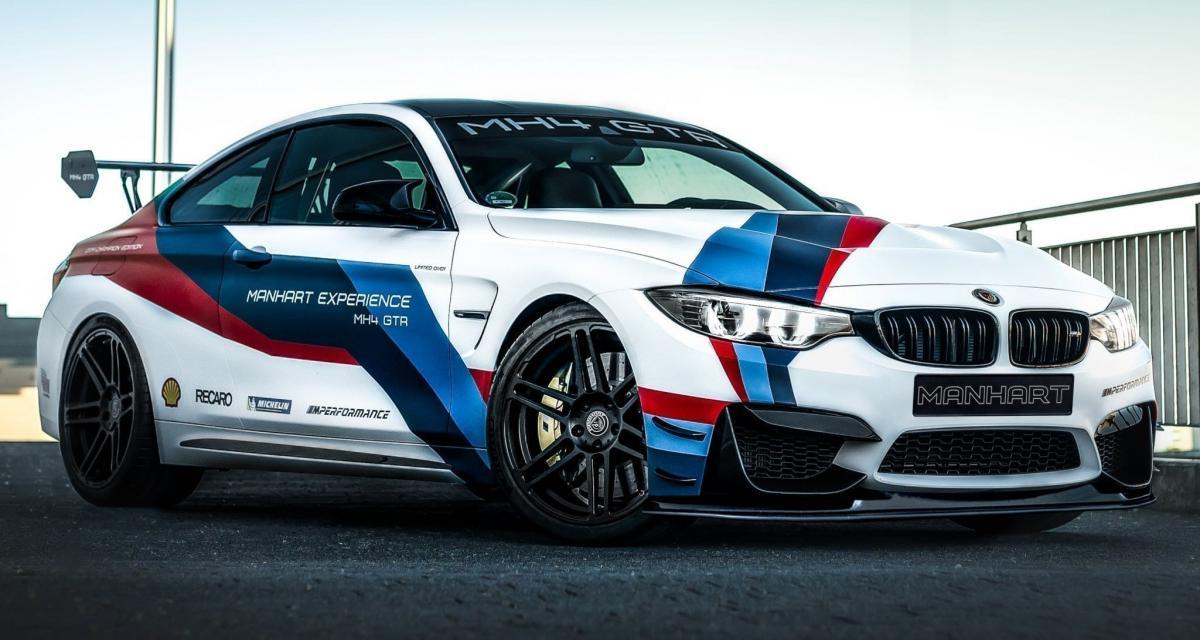 Manhart transforme la BMW M4 en série limitée : exclusivité maximale pour cette MH4 GTR