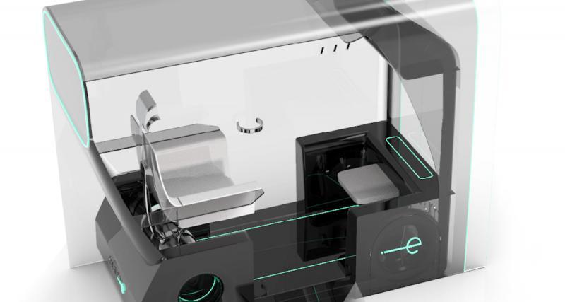 Muvone : un concept de taxi autonome et monoplace face au covid-19