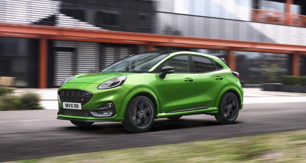 Nouveau Ford Puma ST : prix et options du SUV sportif