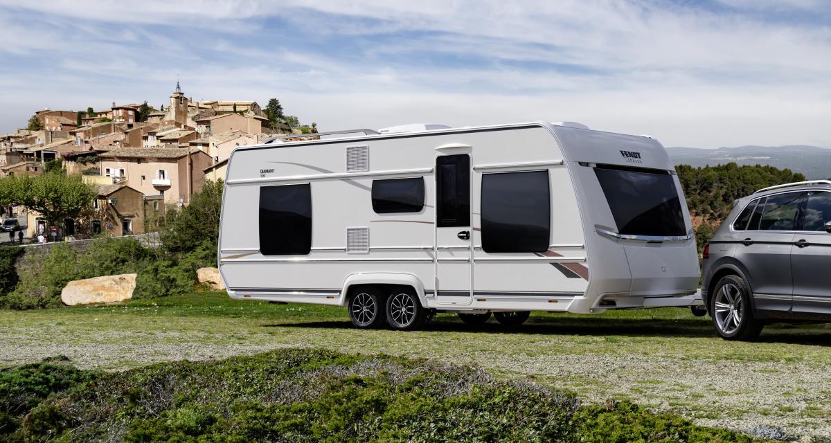 Fendt Diamant 590 DSC : le confort de la maison dans une caravane