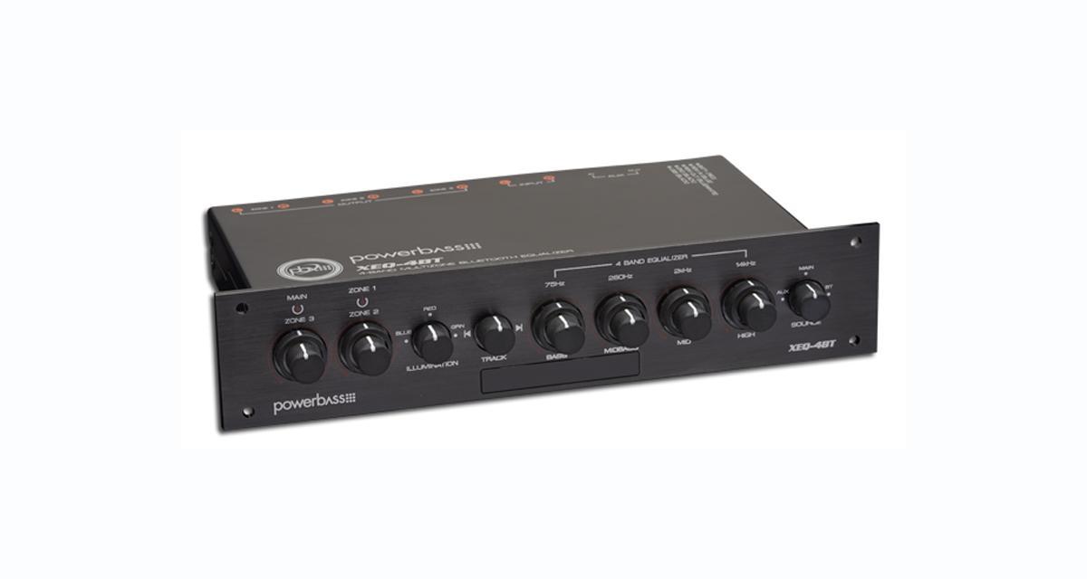 Power Bass commercialise un préampli ½ DIN avec Bluetooth intégré