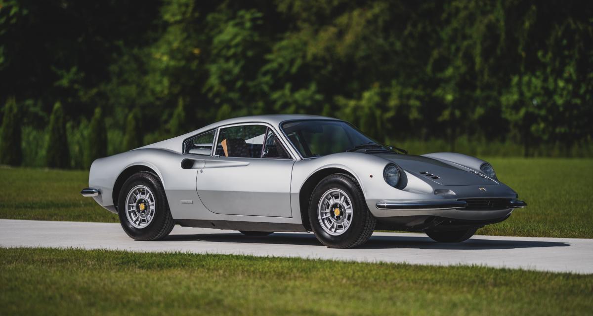 """Ferrari Dino 246 GT : le modèle """"junior"""" le plus emblématique du constructeur"""