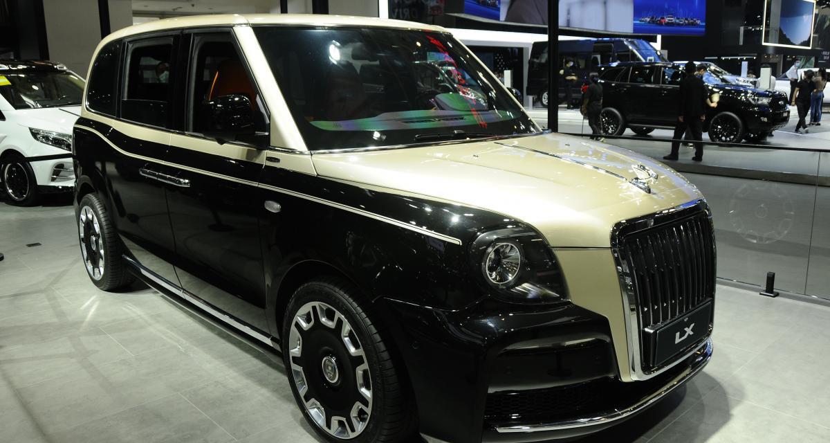 LEVC LX : Lorinser relooke les taxis londoniens électriques au Beijing Motor Show