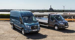 Ford Transit : une version robuste avec un PTAC atteignant 5 tonnes débarque en Europe