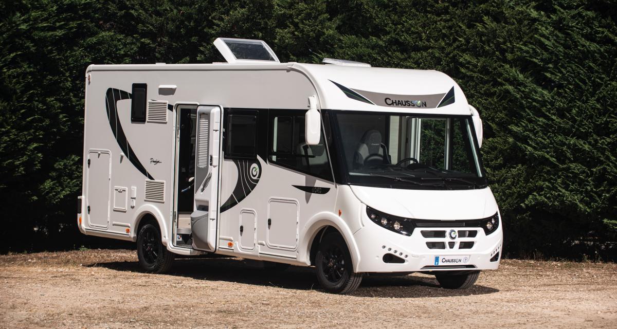 Camping-car Chausson 6040 Premium Line : série spéciale Made in France et familiale