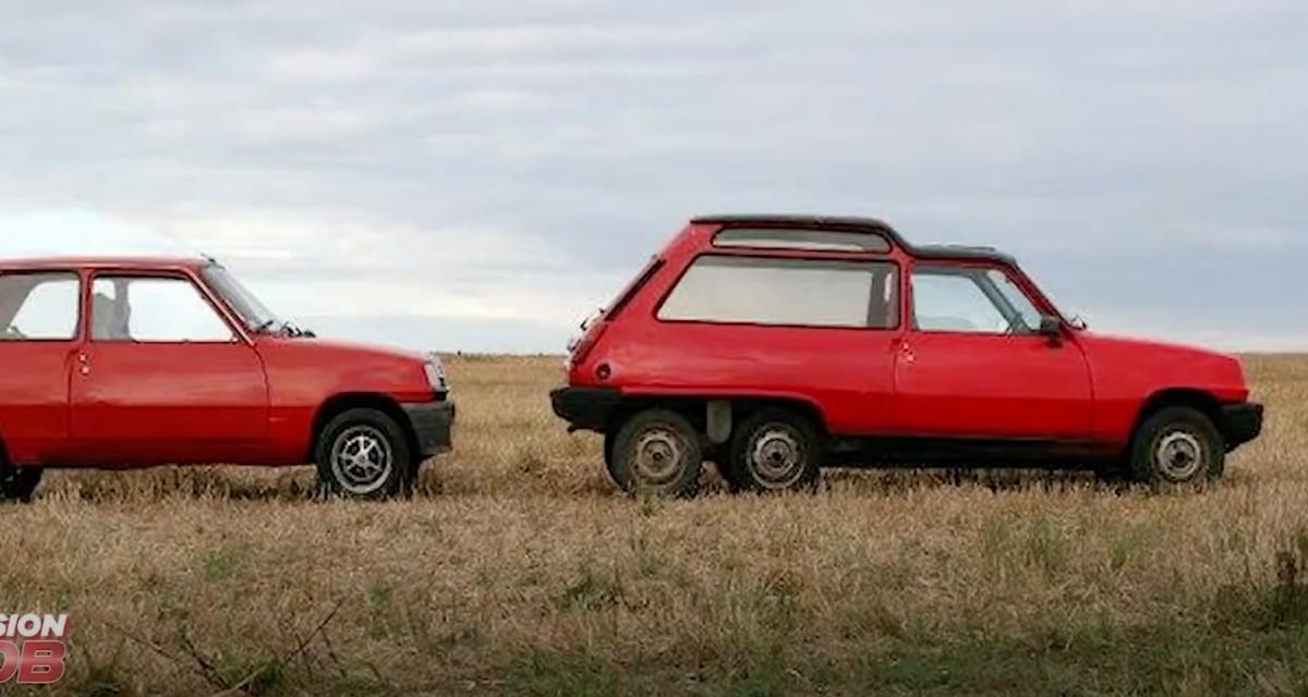 Le saviez-vous ? La mode des voitures à 6 roues a un jour touché la mythique Renault 5