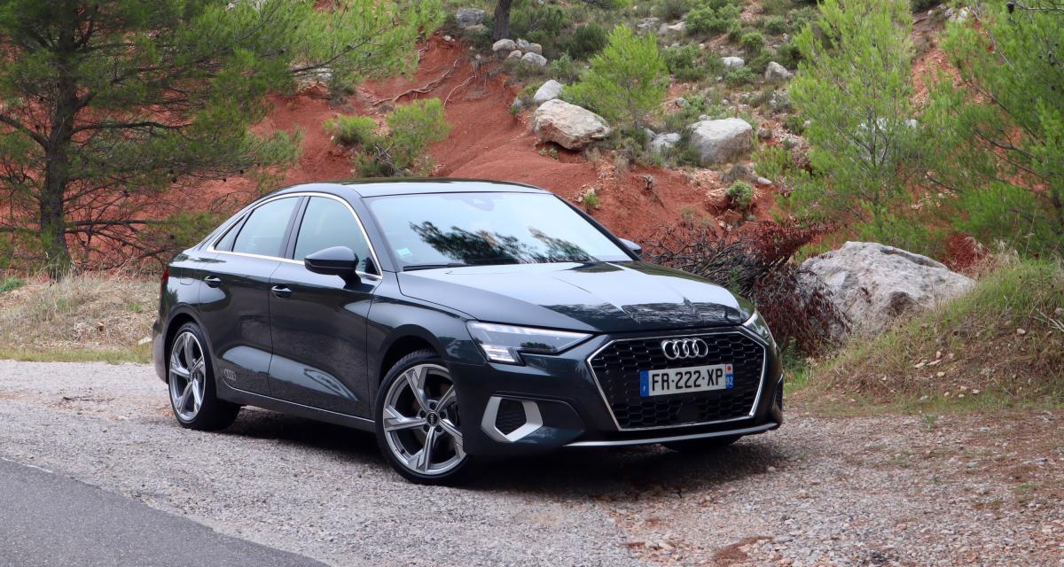 Essai nouvelle Audi A3 Berline : nos photos de la compacte aux anneaux