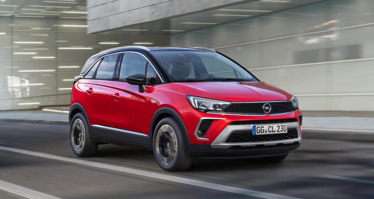 Opel Crossland (2021) : restylage de surface pour le crossover