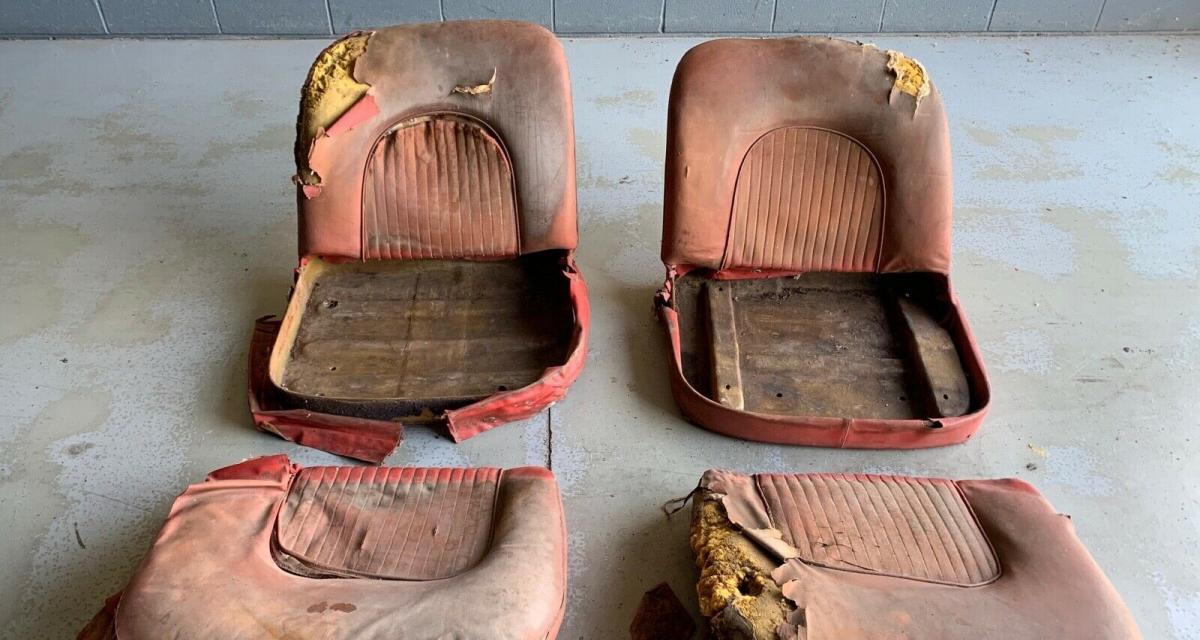 Un lot de 2 sièges de Corvette pour 90 000$, ça vous dit ?