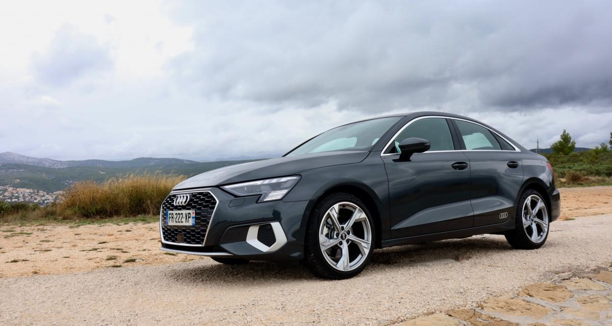 Essai nouvelle Audi A3 Berline 35 TFSI : essence, efficience, polyvalence