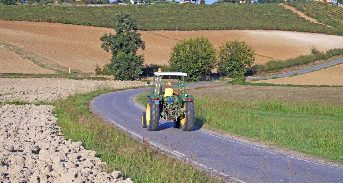 Un homme arrêté ivre et en pleine suspension de permis au volant de … son tracteur