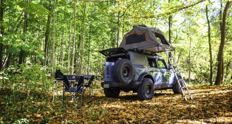 Ford Bronco Overland : le camping tout-terrain avec style