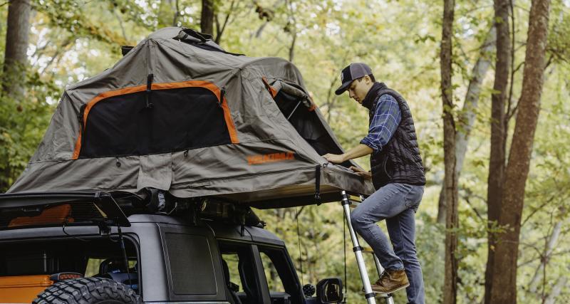 Tente pliable pour deux
