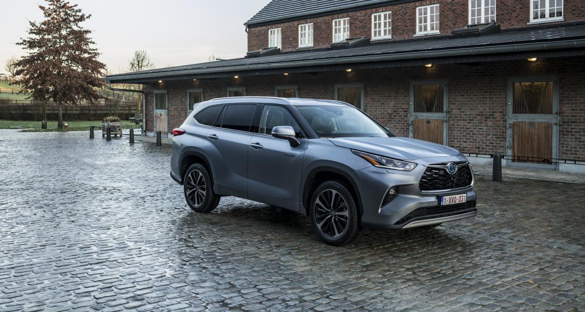 Nouveau Toyota Highlander Hybride : prix et options du SUV 7 places