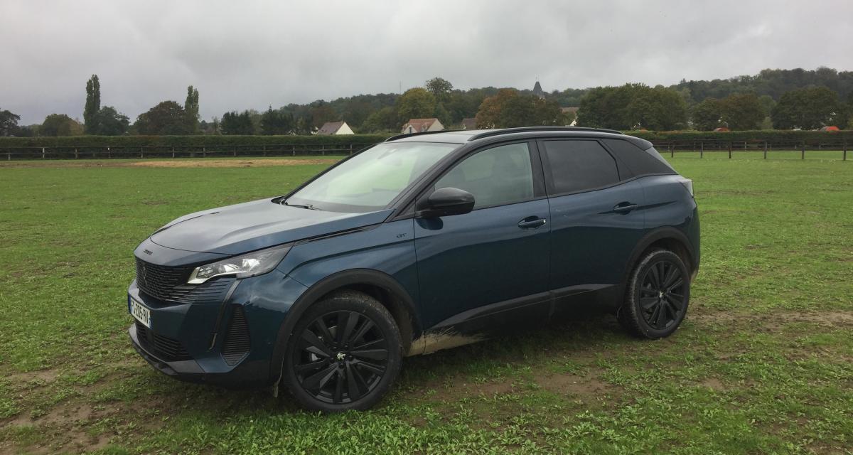 Peugeot 3008 restylé (2021) : nos photos du crossover à l'essai