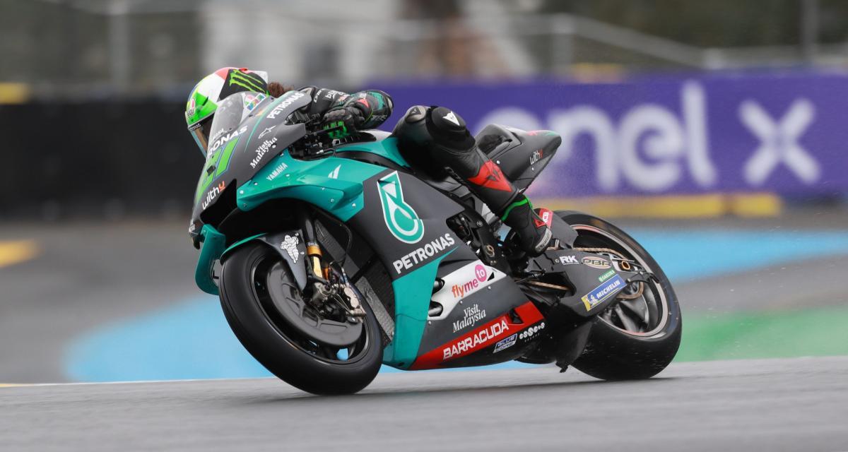 GP de France de MotoGP : la grille de départ, Quartararo en pole