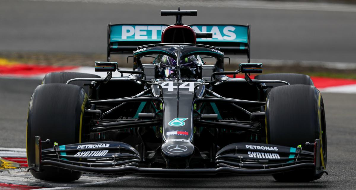 GP d'Eifel de F1 en vidéo - le classement final : Hamilton égale Schumacher, Ricciardo sur le podium, Grosjean dans les points !