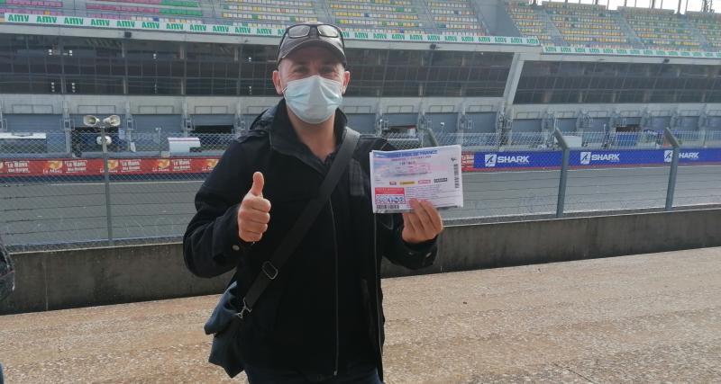 MotoGP Grand Prix de France (la journée du vainqueur de notre jeu-concours): « Vous avez réalisé mon rêve ! »