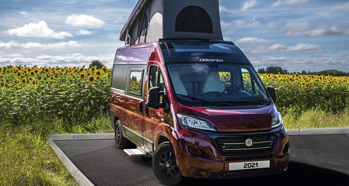 Dreamer D43 UP Addict : le van aménagé dont on devient vite accro