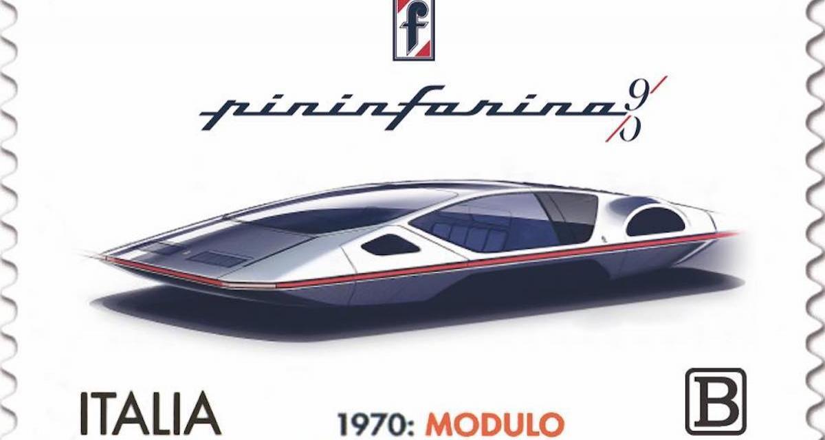 90e anniversaire de Pininfarina : un timbre à l'effigie de son modèle le plus fou