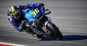 Tomber de sa moto et rester classe ? Joan Mir l'a fait ! (vidéo)