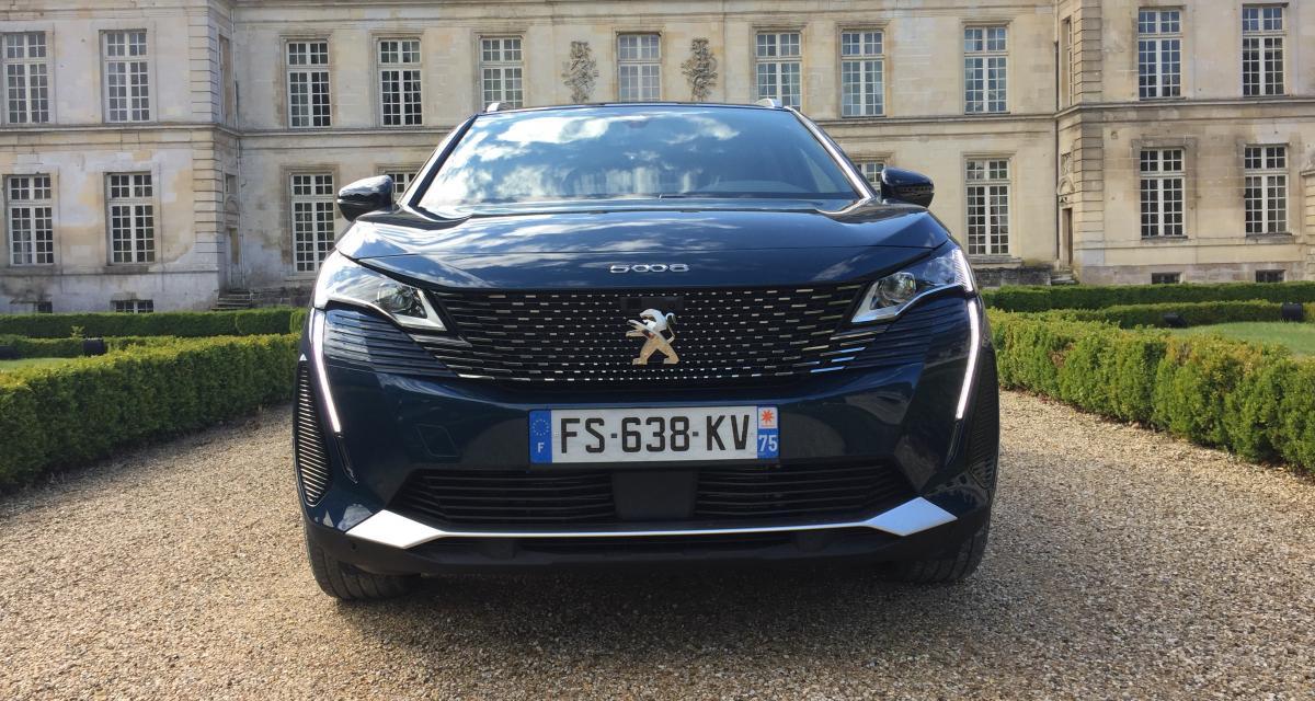 Essai Peugeot 5008 restylé (2021) : du coffre et du style pour le lion des familles